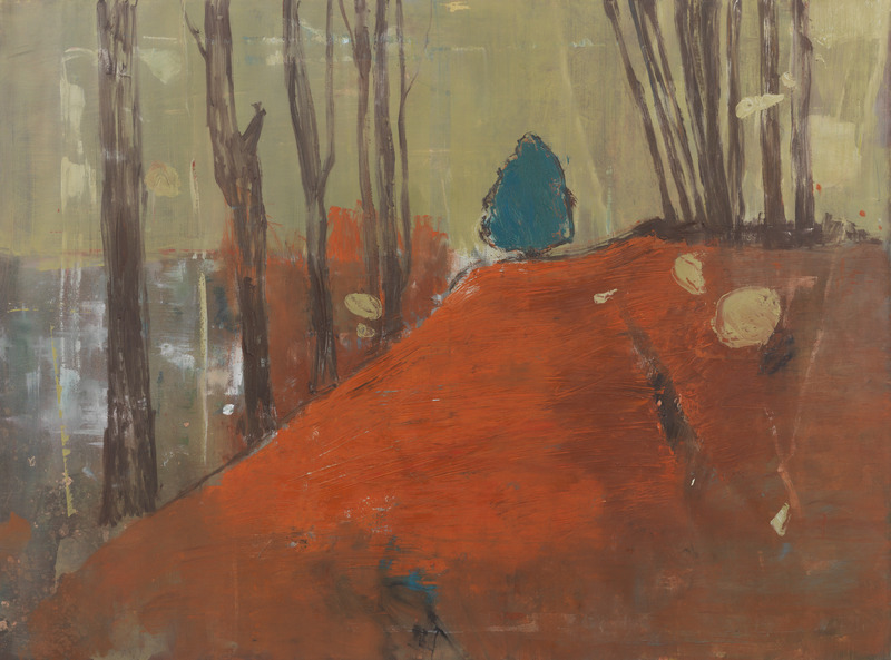 Camino a casa (The Road Home), 2011. Oil on canvas, 59 x 78 3/4 in.