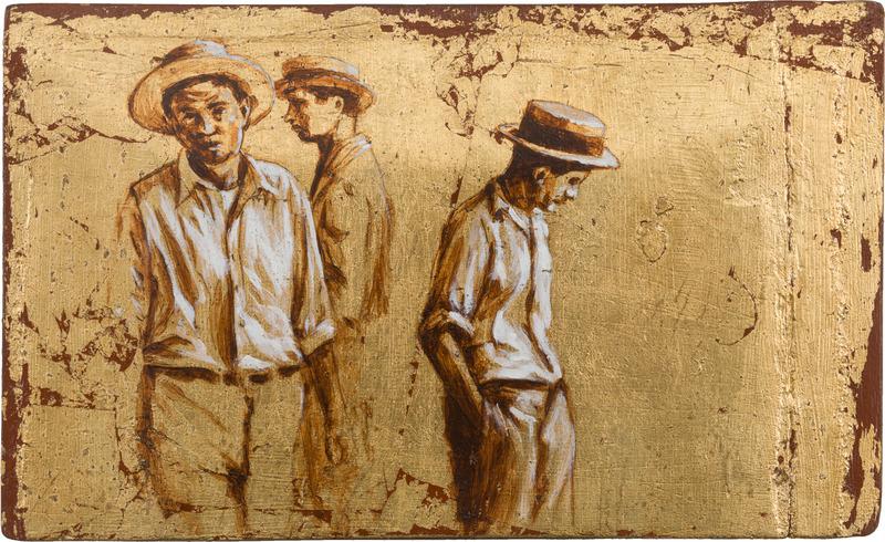 Negro dormido, de la serie Orbis. Tributo a Walker Evans (Black Asleep, from the series Orbis. Tribute to Walker Evans), 2009.