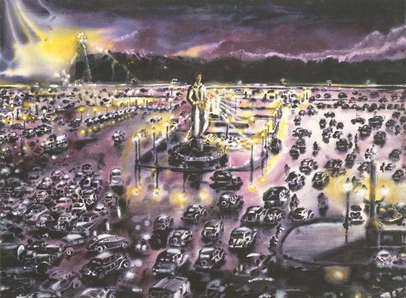 Memoria 1926 (Memory 1926), 2001. Oil on canvas. 35 1/4 x 46 3/4 in.