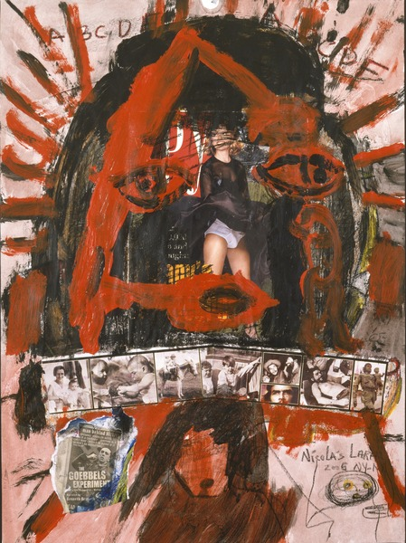 Untitled, 2005. Mixed media on paper. 24 x 18 in.