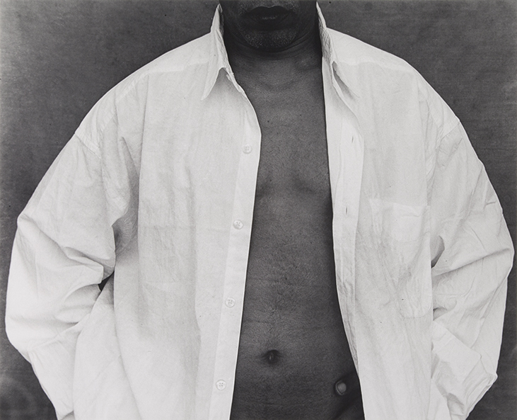 Untitled (Shirt), from the series White Things, 2000. Silver gelatin print. 18 1/2 x 23 in.