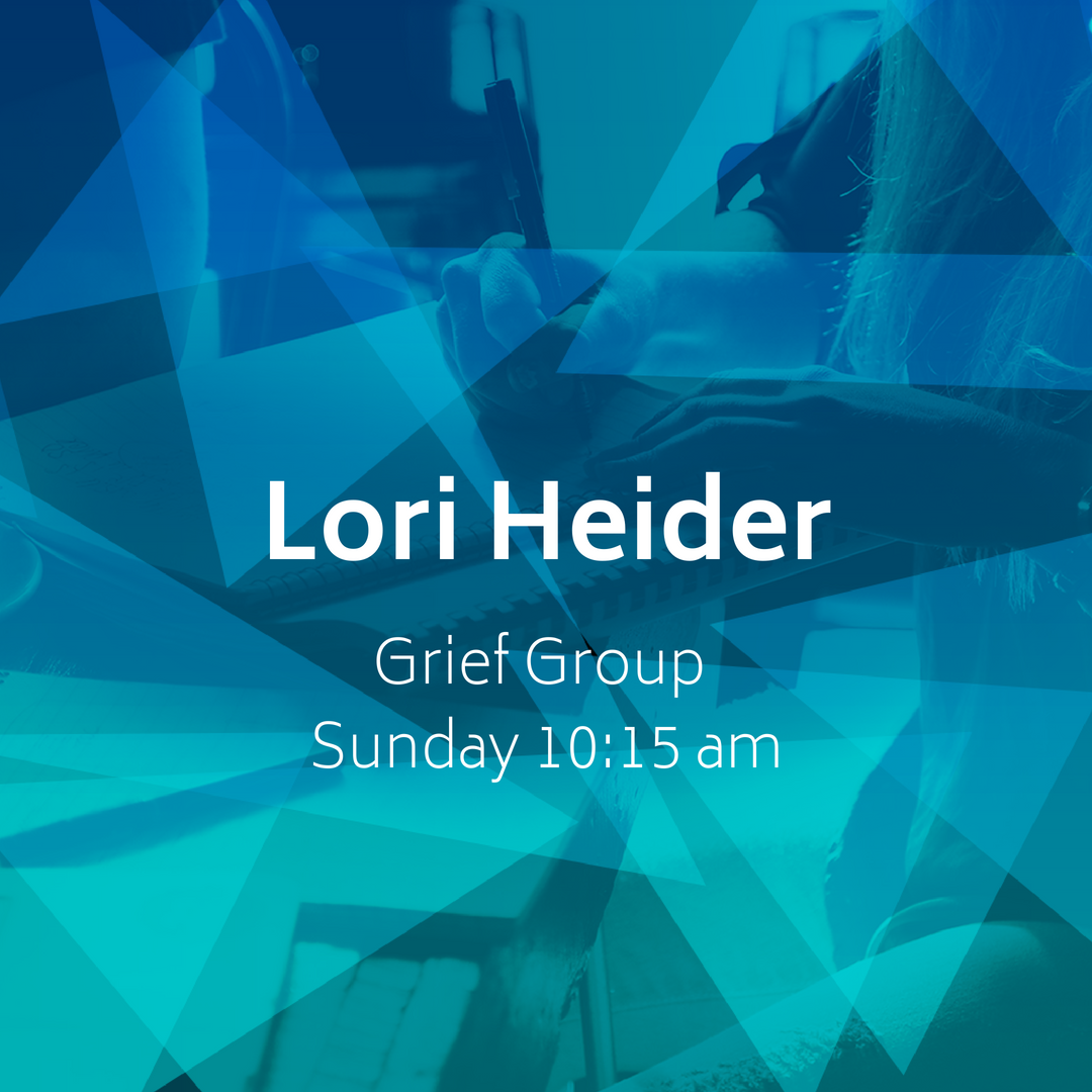 Grief Group - Lori Heider will be leading a small group at 10:30 AM in the church office for anyone who has lost a loved one and is dealing with grief. There are 10 spots available for this group.