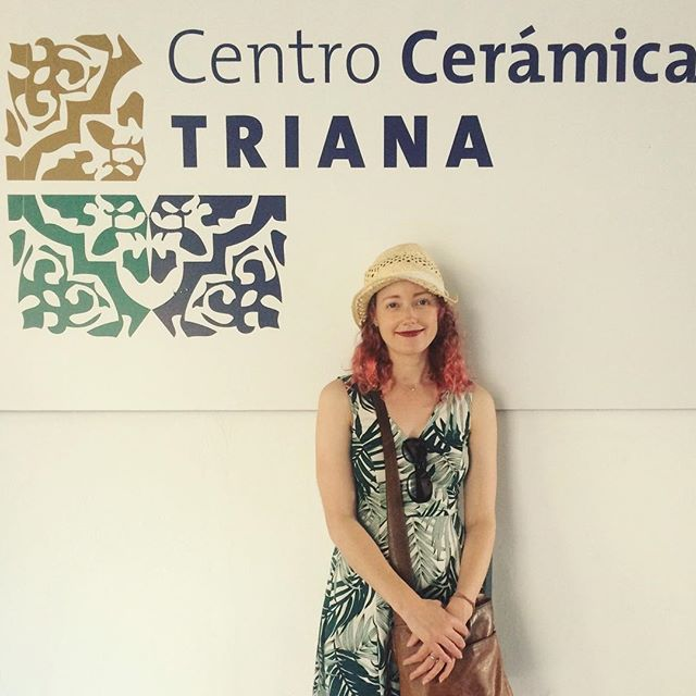 Excited to have visited @centroceramicatriana yesterday. Seville is crammed full of beautiful ceramics and tiles. Feeling inspired to try out some  new ceramics ideas when I get home. . . . #ceramics #seville #pottery #inspired