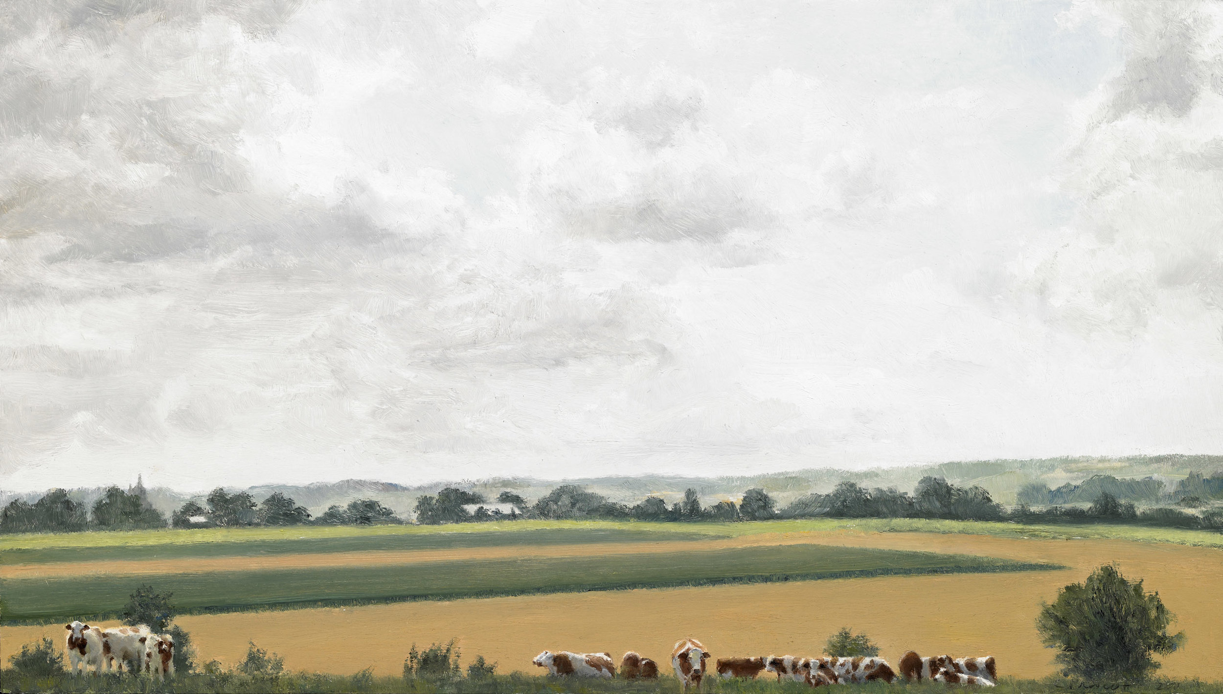 Cows at Home, Bonning, France II.jpg