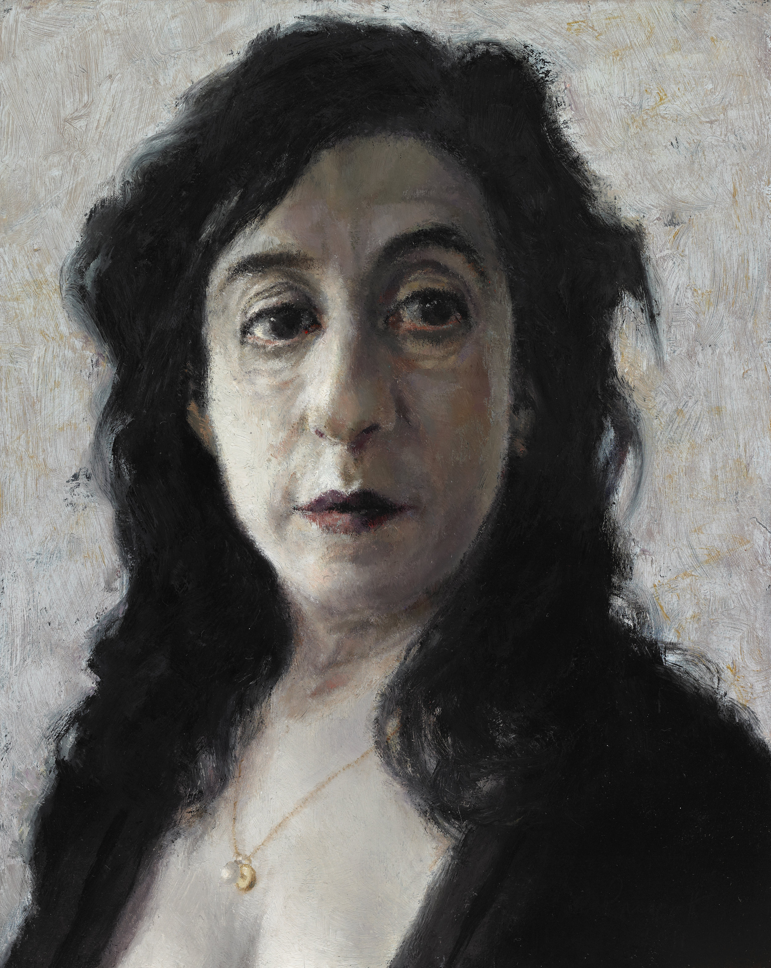 """Ellen Eagle II , Oil on Wood Panel, 2011, 7 5/8"""" x 6"""""""