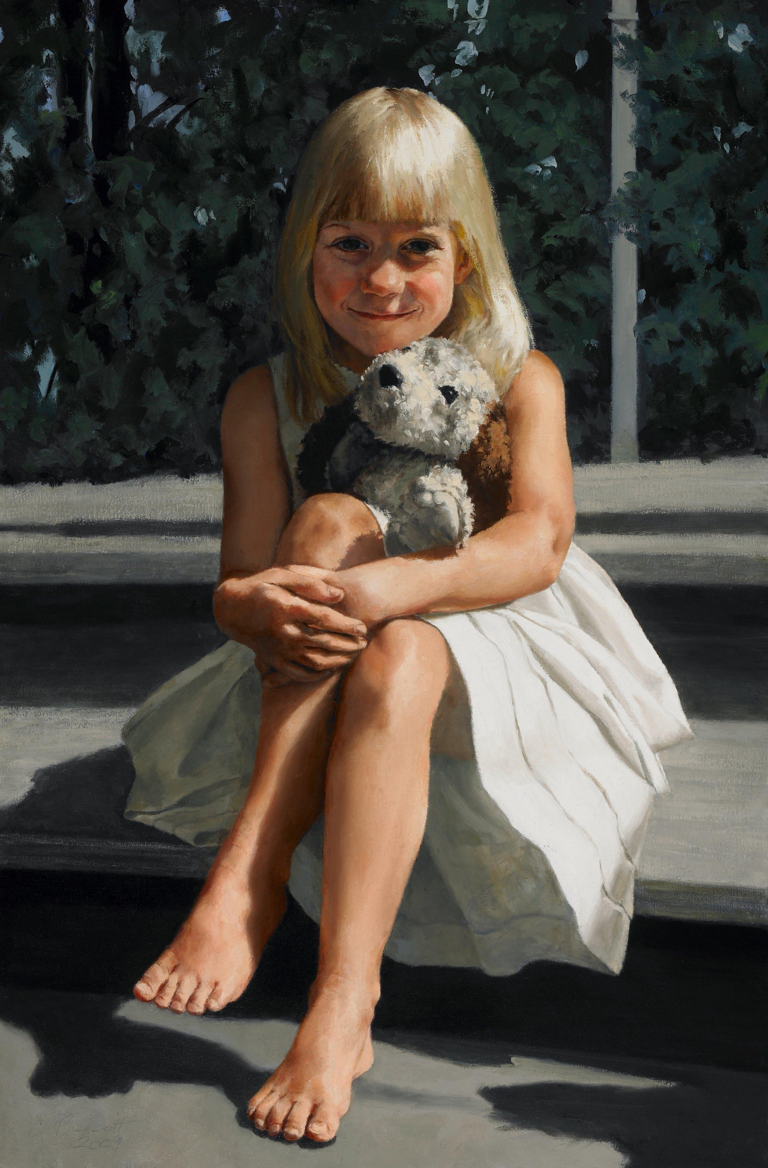 """Rebecca Scott , 2009, Oil on Canvas, 36"""" x 24""""  Private Collection"""