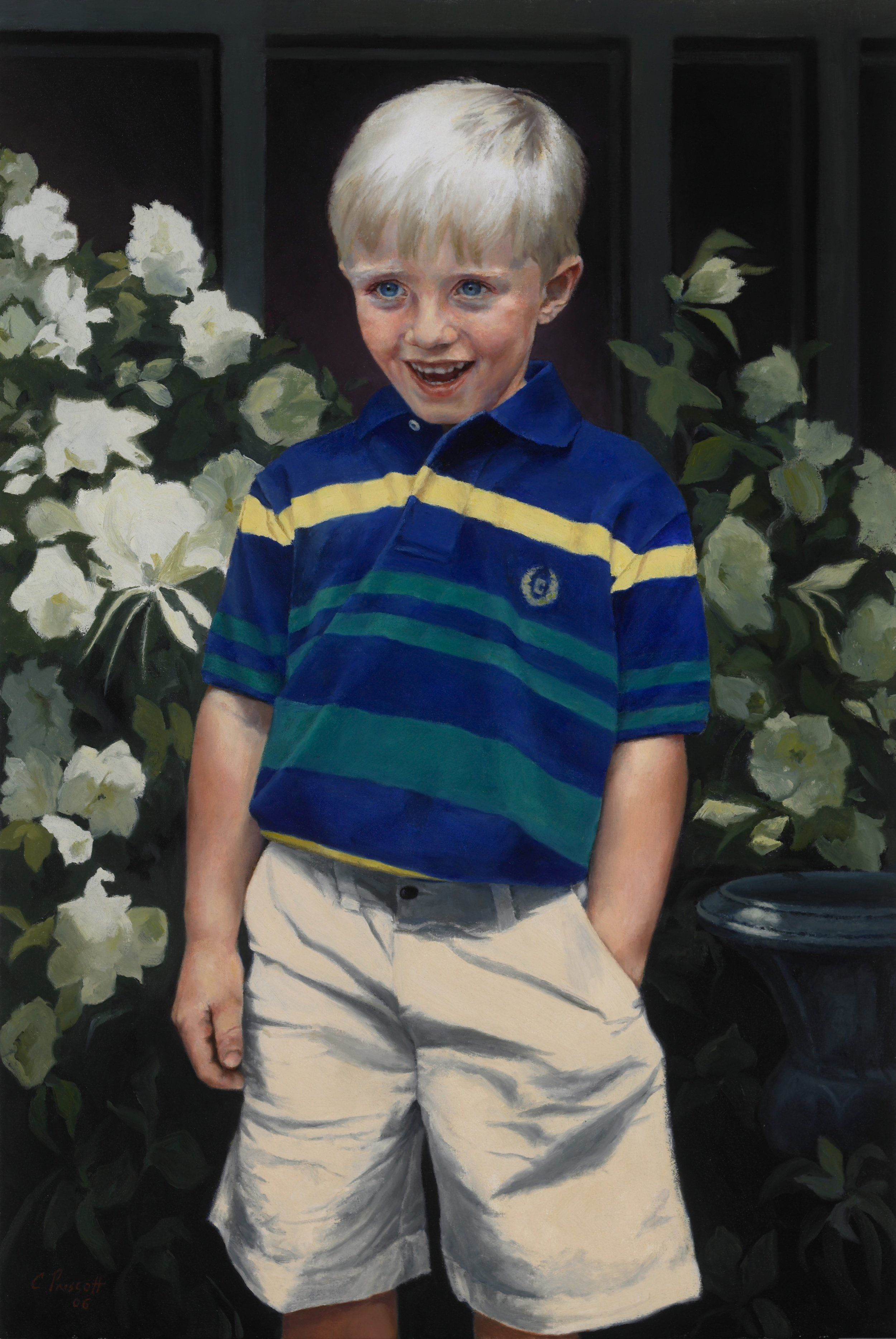 "Cade , Oil on Canvas, 2006, 36"" x 24""  Private Collection"