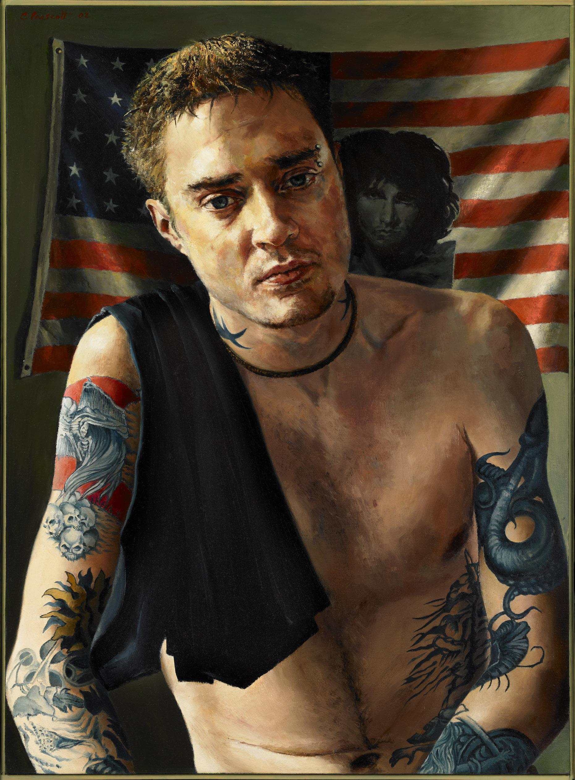 "jdmdoor , Oil on Canvas, 2002, 30"" x 22"""
