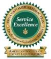 Estate Liquidators Service Excellence SeaL.jpg