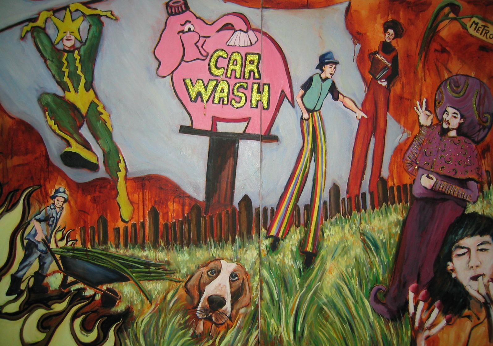 ElectroandFriends Oil on Canvas 2005 10 x 6 feet.JPG