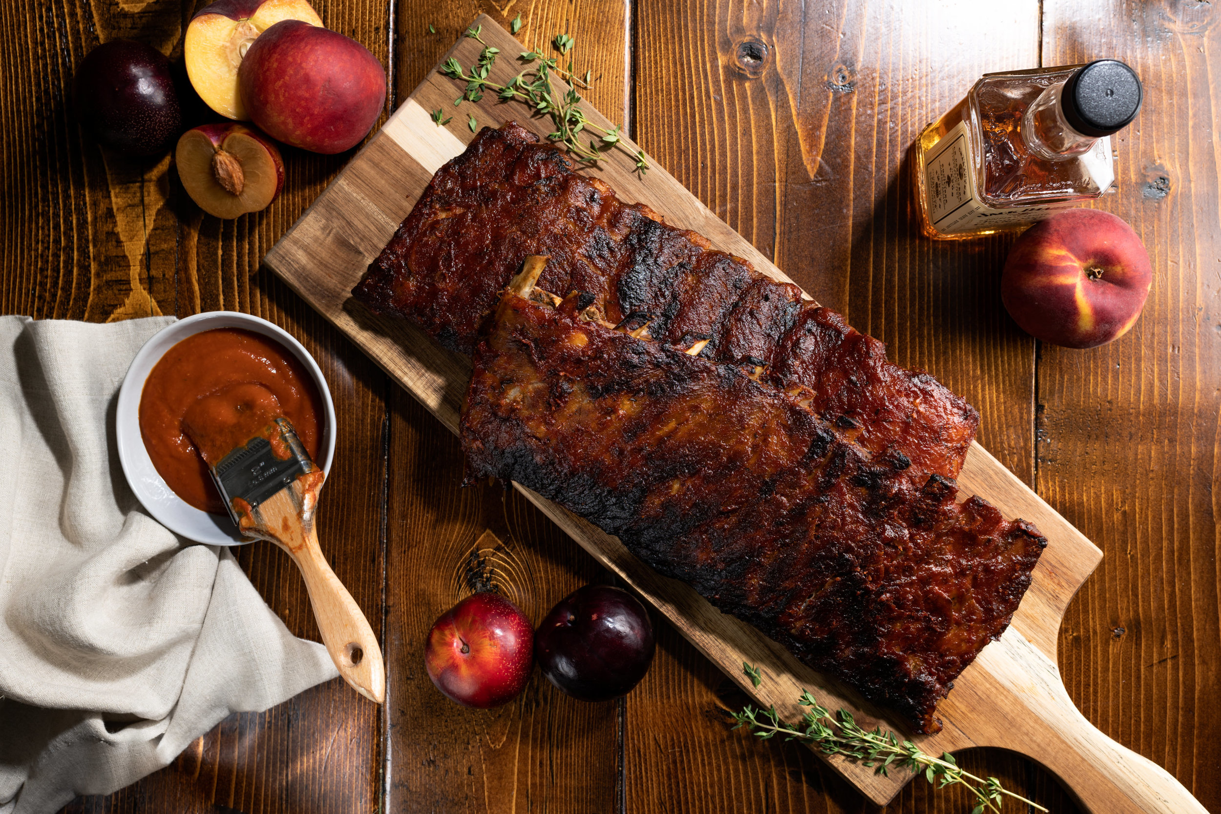 Smokey Stone Fruit & Bourbon BBQ Ribs-28.jpg
