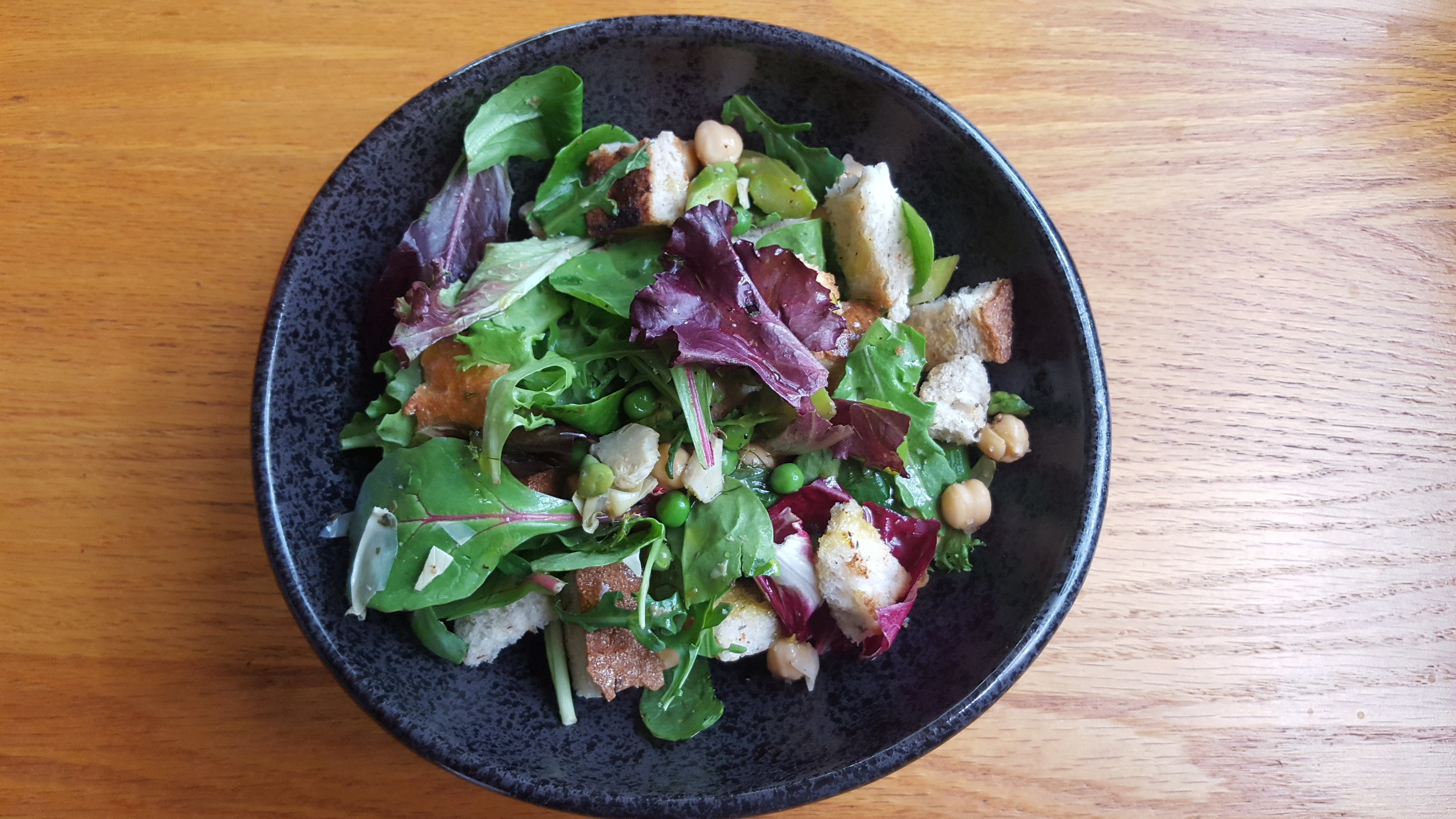 Spring Panzanella Salad from  Power Plates  by Gena Hamshaw.