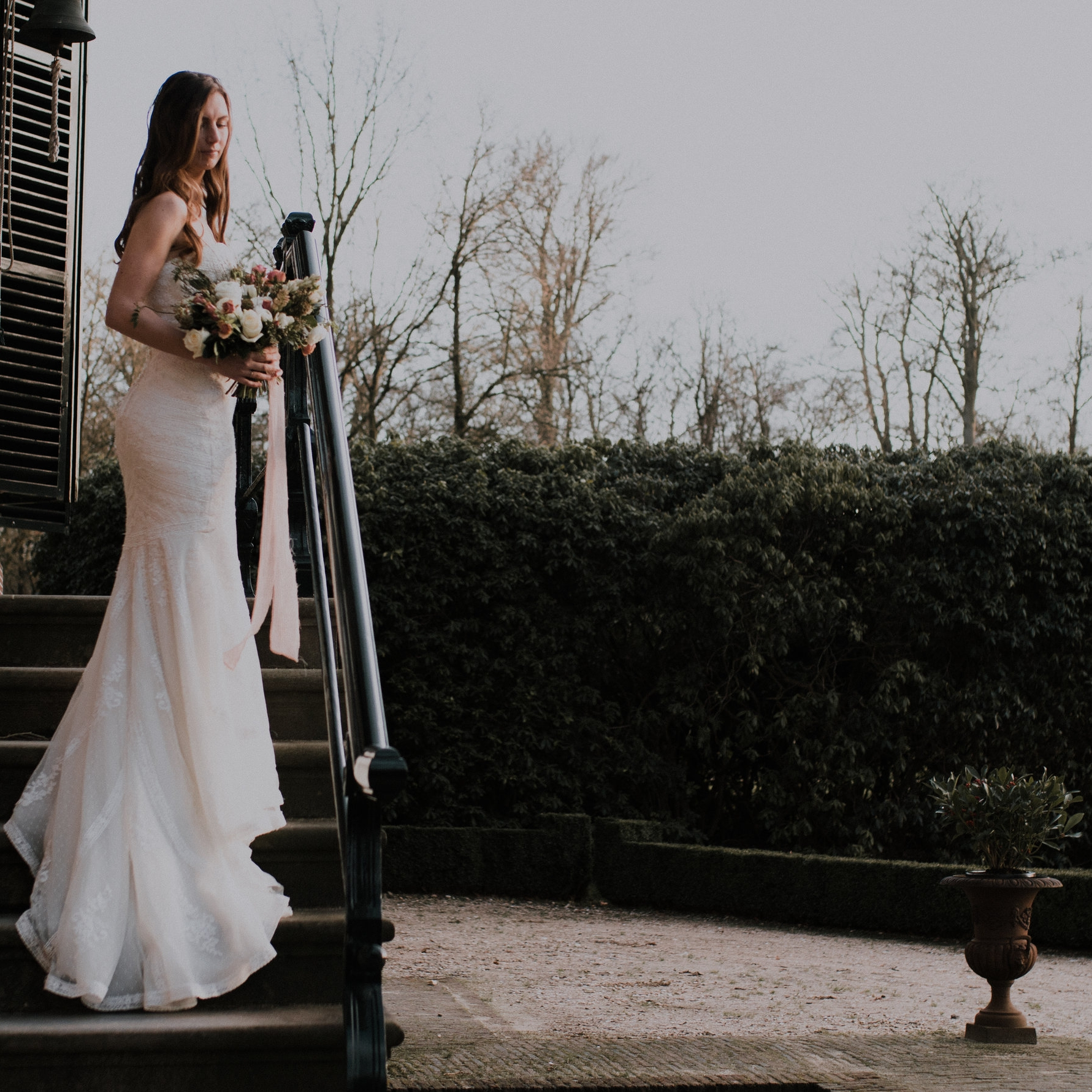 Wedding dress romantic - Daisy & Bird floral design