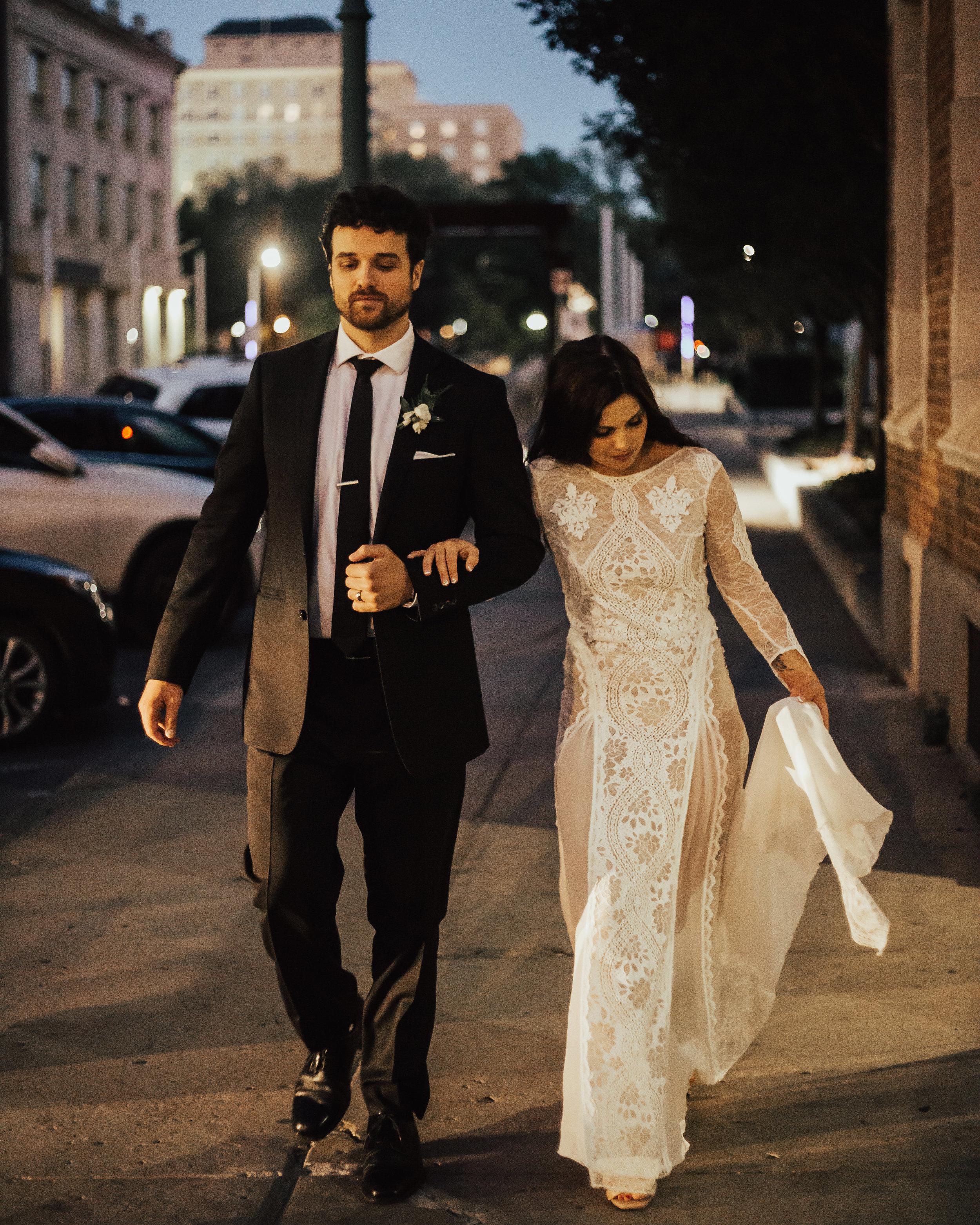 Down town wedding Regina