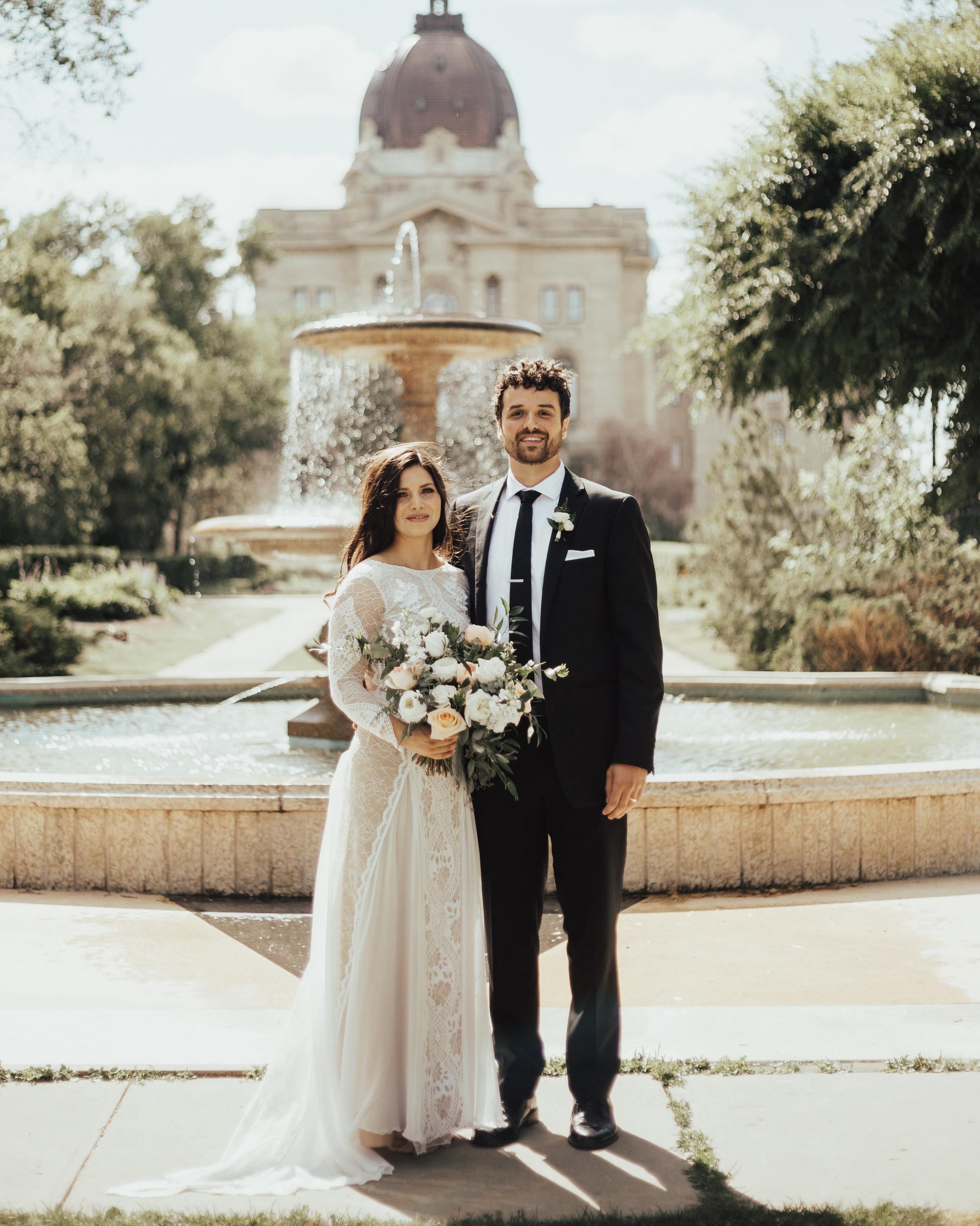 Legislative building wedding Regina