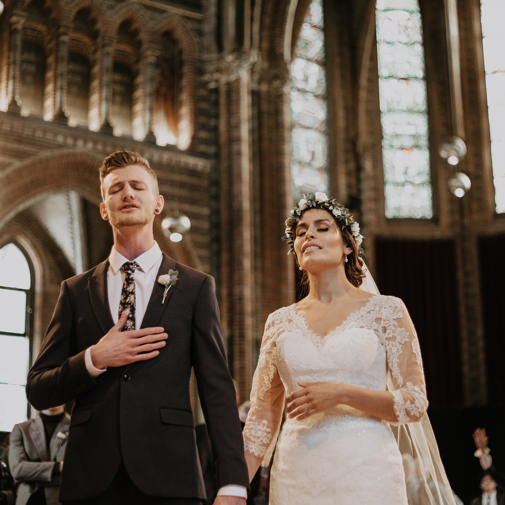 Ceremony church Wedding