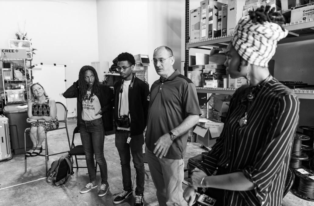 MediaWorks producers participated in externships and job shadow days as part of their professional development over the summer. Read Tahir's reflection below.