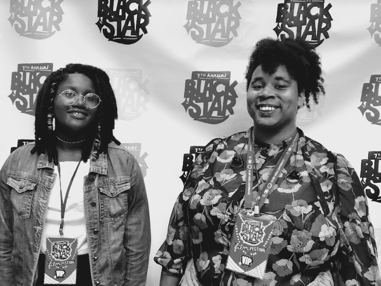 Ayanna and Joelle presented their work at Blackstar Film Festival in Philadelphia, PA.