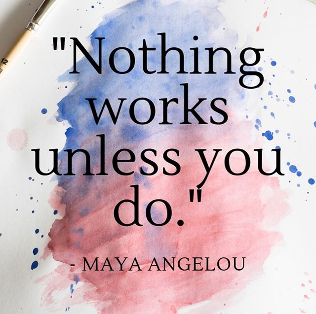 Today's motivation Monday is inspired by Maya Angelou! Let's put in the work and get this bread! 🗣  #monday #motivation #successquotes #success #beyou #youth #truth #voice #strength #baltimore
