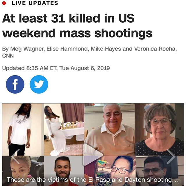 This weekend several mass shootings have happened across America. I feel like there should be major restrictions on automatic weapons and major background checks! How many more people have to die before something is done. Today's talk Tuesday is about your opinion on gun laws and what you think about this sad situation. How do you guys feel about it?  Credit to @cnn for this article  #massshooting #gunlaws #teens #teenperspective #news #recent #yourvoice #baltimore #iammorebmore #america #opinion #youth #youthempowerment