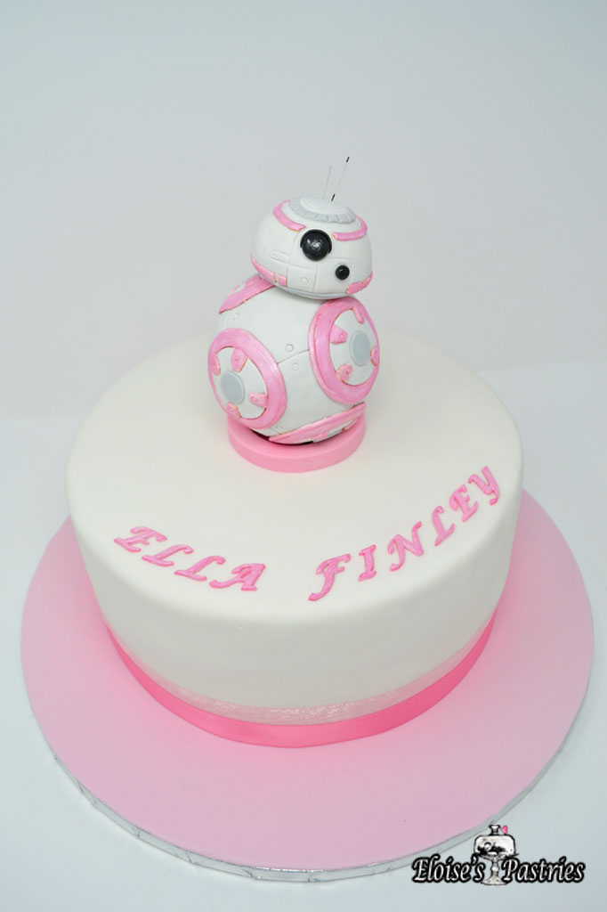 BB-8 themed Baby Shower Cake