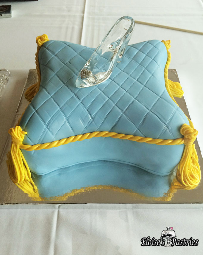 Cinderella's Pillow Bridal Shower Cake