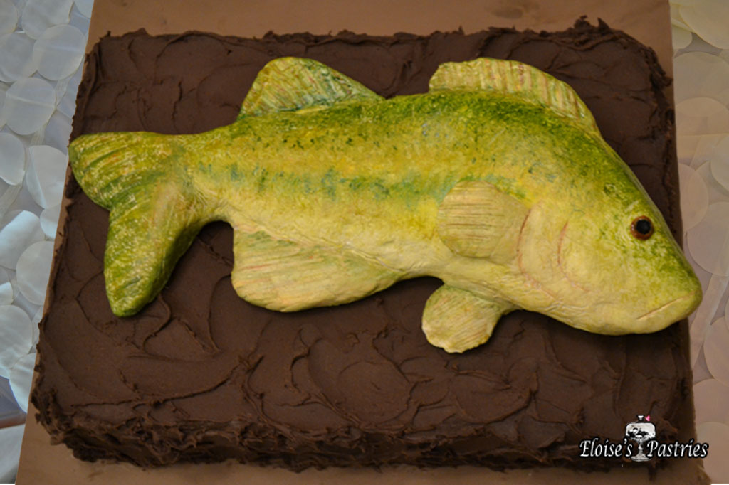 Gone Fishing Groom's Cake