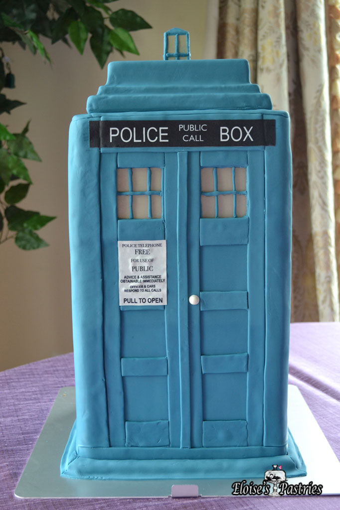Dr. Who Taurus Groom's Cake