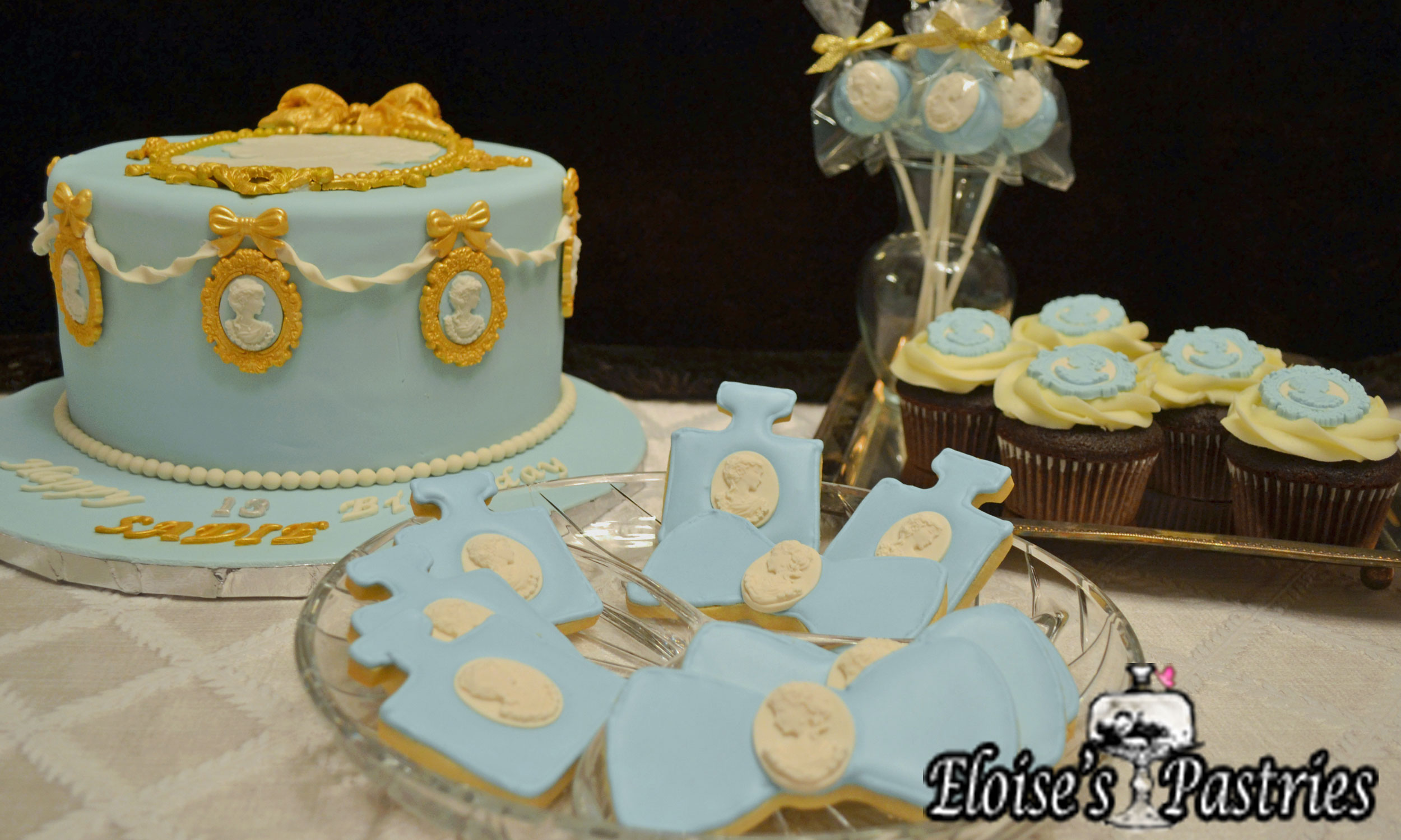 Victorian Cake, Cookies & Cupcakes