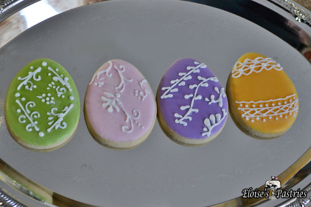 Decorative Easter Egg Cookies