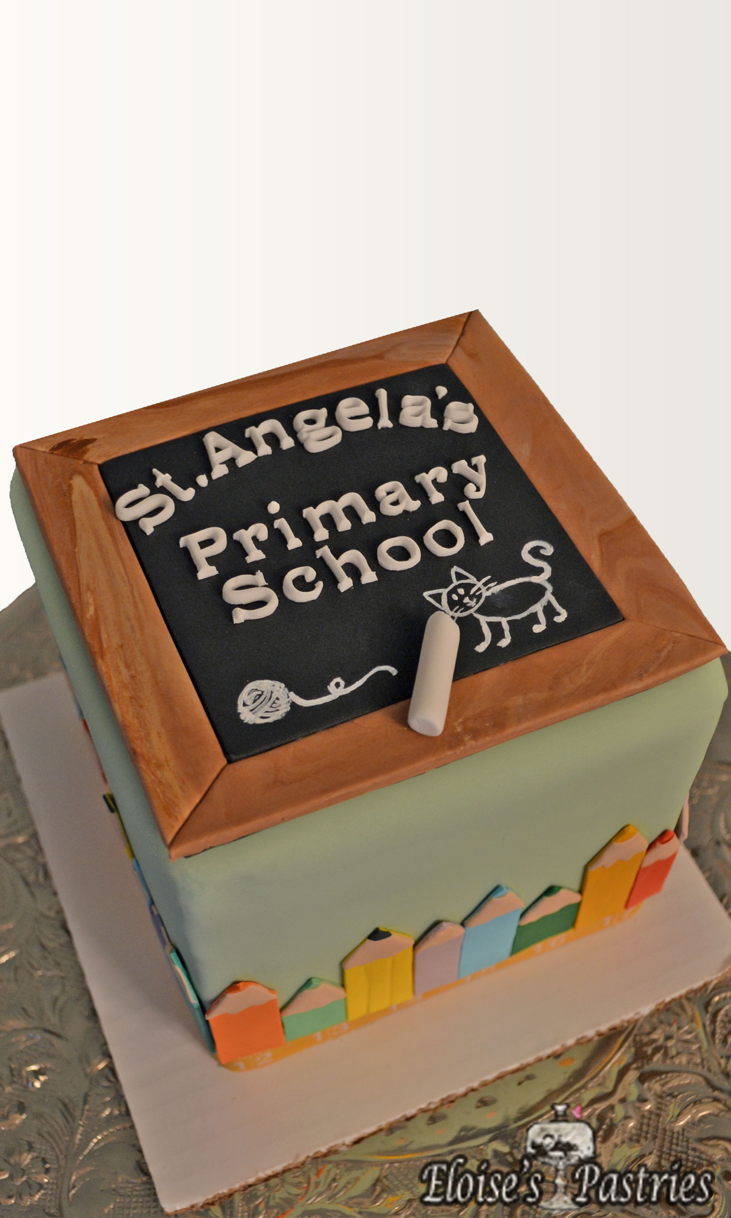 """Back to School"" Cake"