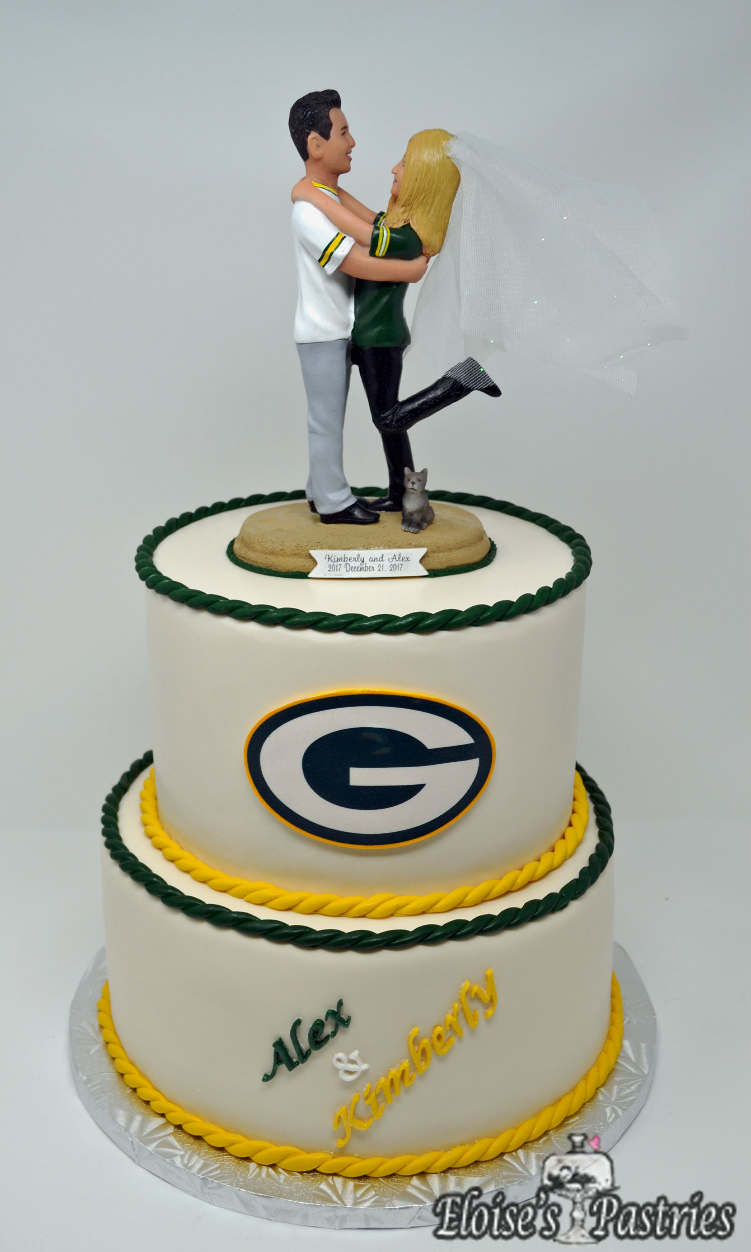 Groom's Cake - Team Theme