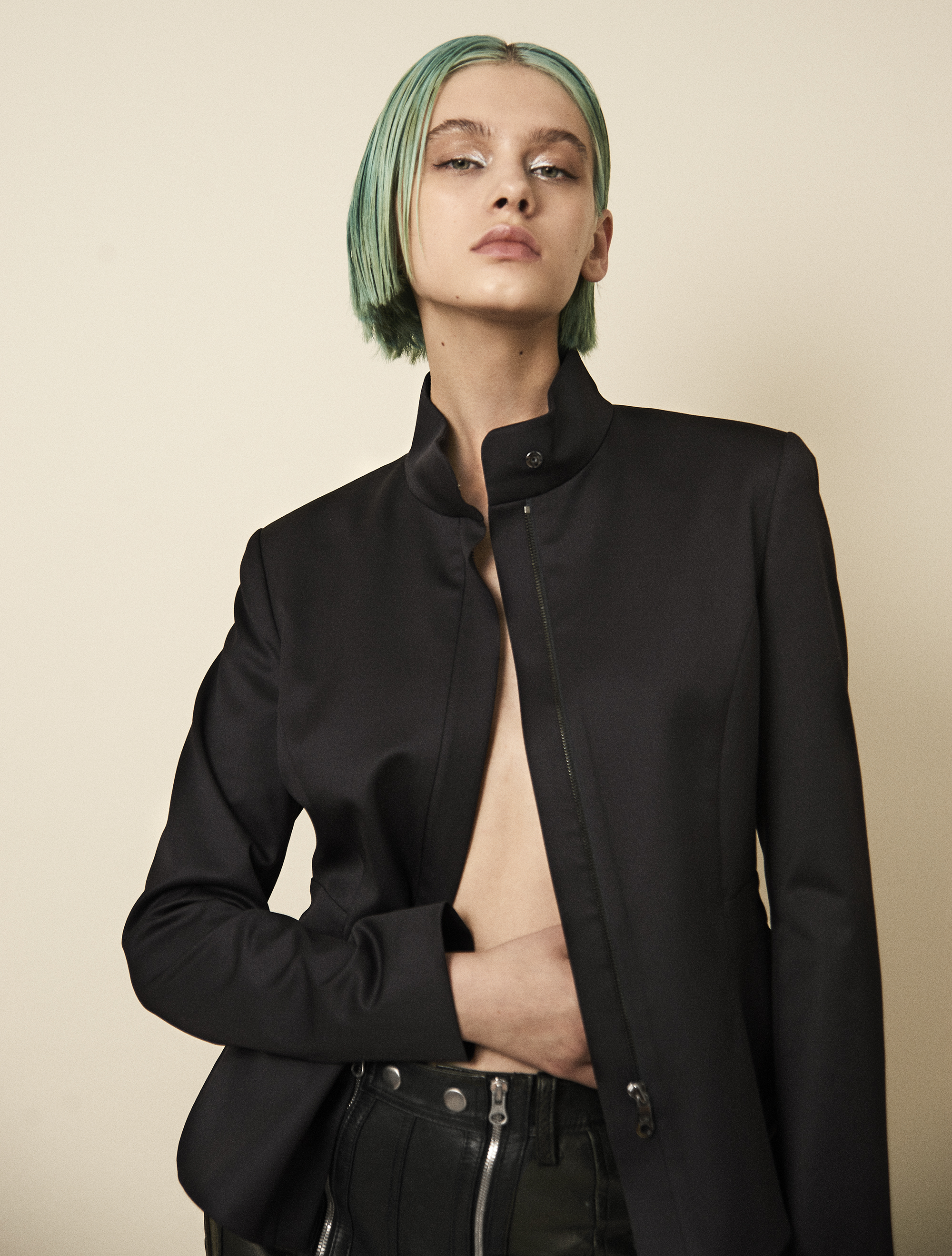 Jacket  Lie Sangbong . Leather pants vintage  PH
