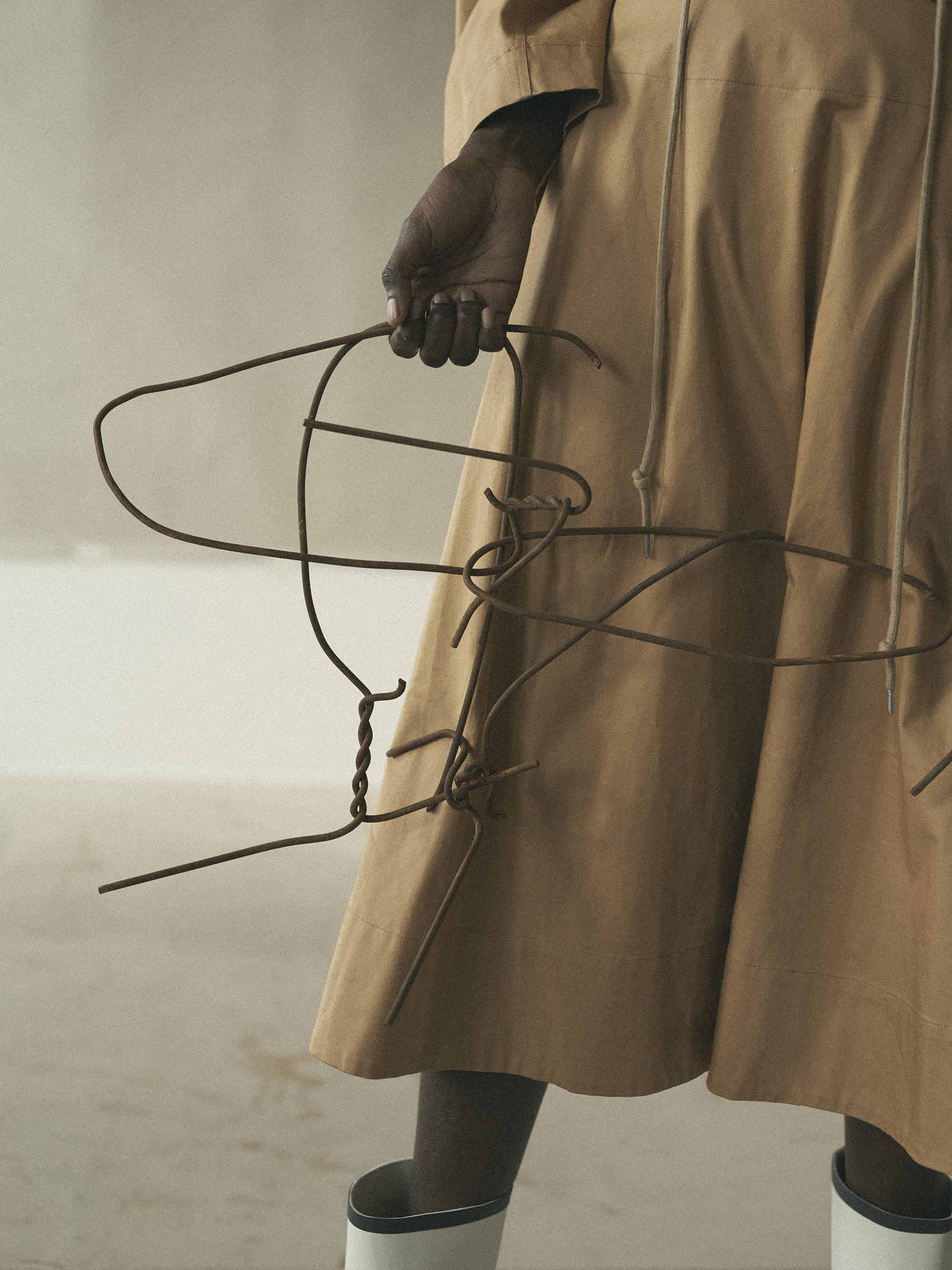Skirt  Uniqlo . Boots  RAIN