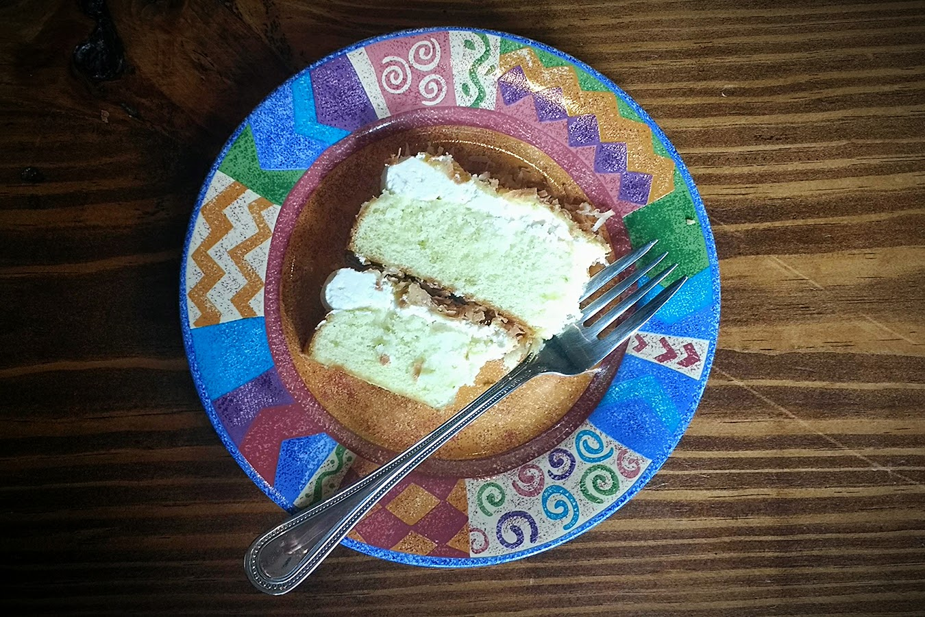 Beneath the Crust: lime & coconut Cake