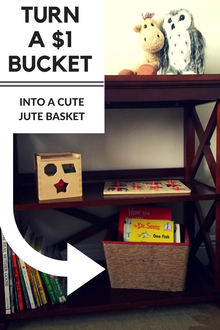 Beneath the Crust: Dollar Store Baskets