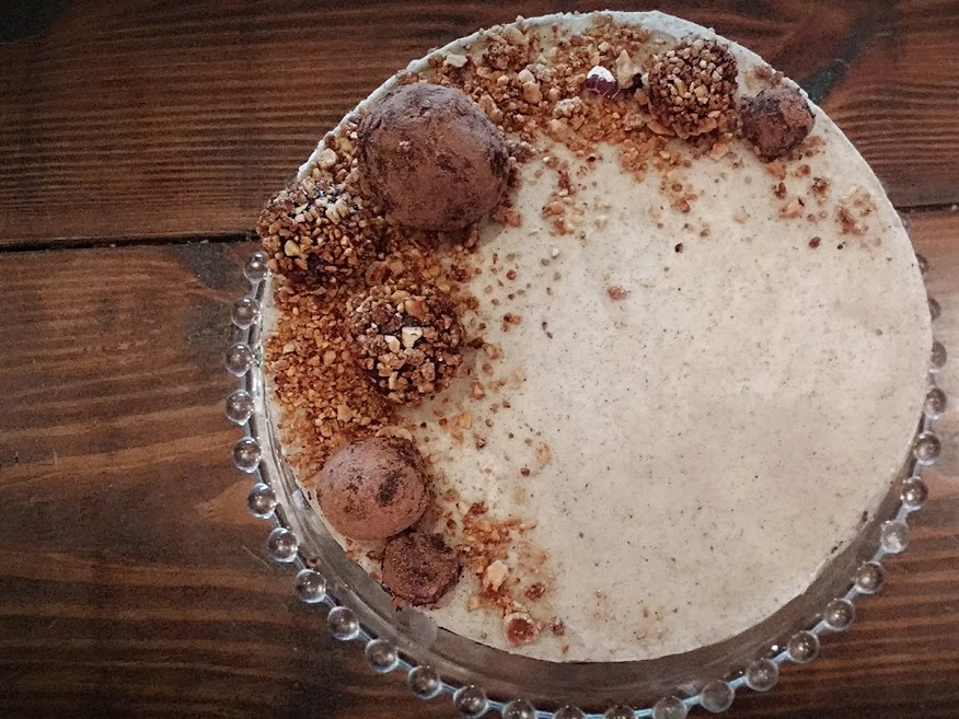 Beneath the Crust: hazelnut truffle crunch cake