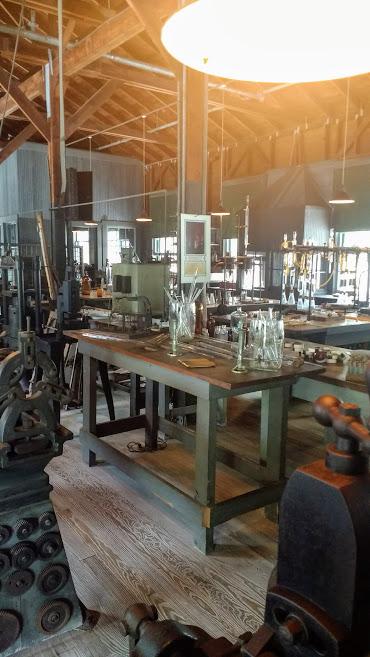 Inside Edison's lab