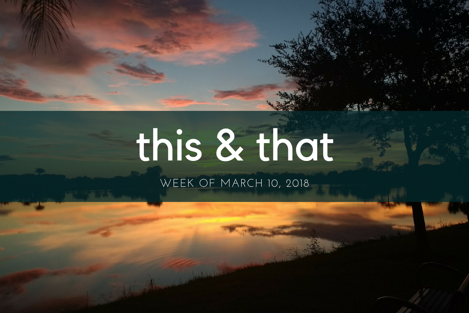 Beneath the Crust: This & That, Week of March 10, 2018