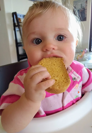 Beneath the Crust: homemade teething toasts, zwieback