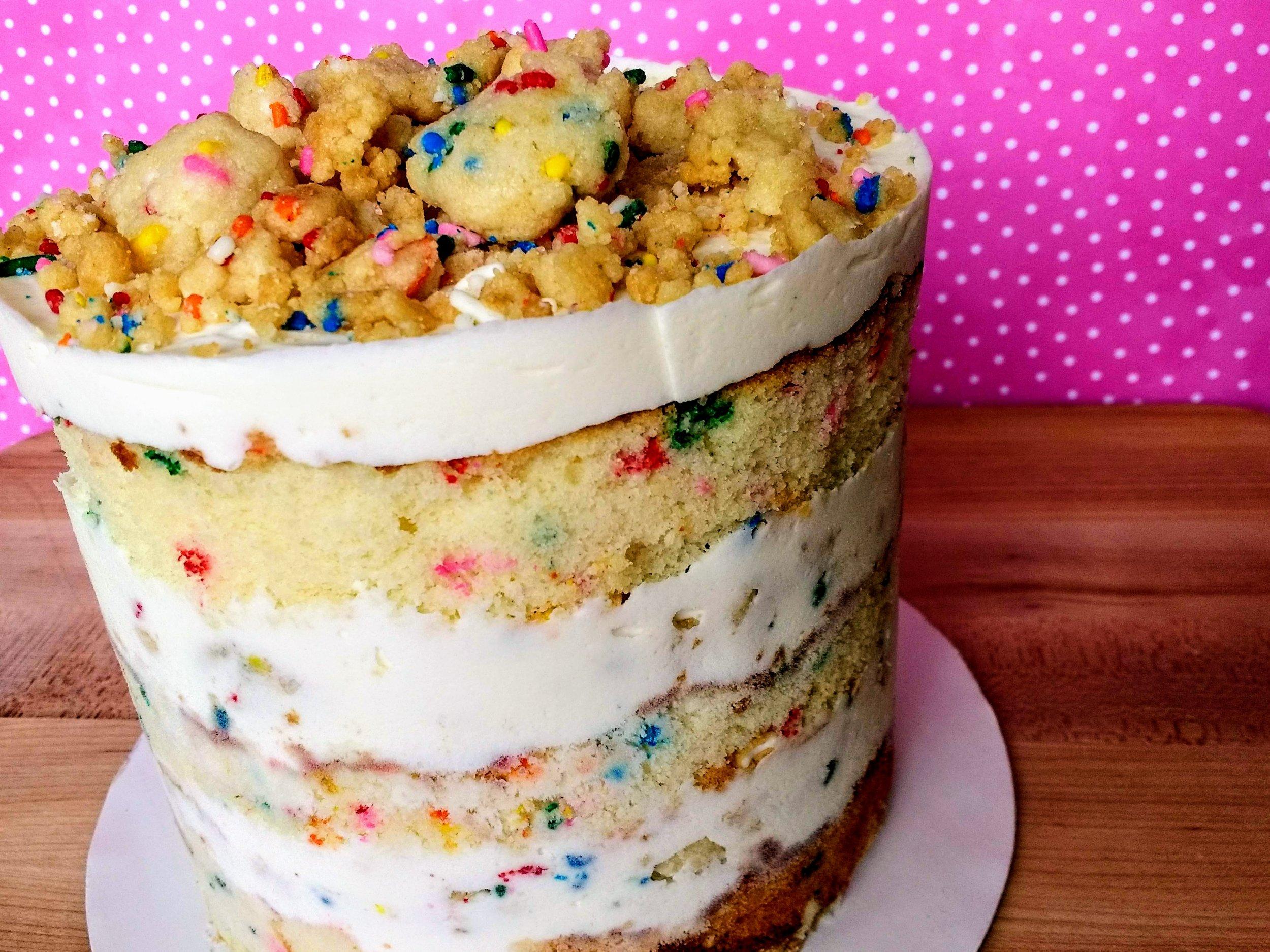Beneath the Crust: I made my man the momofuku milk bar birthday cake