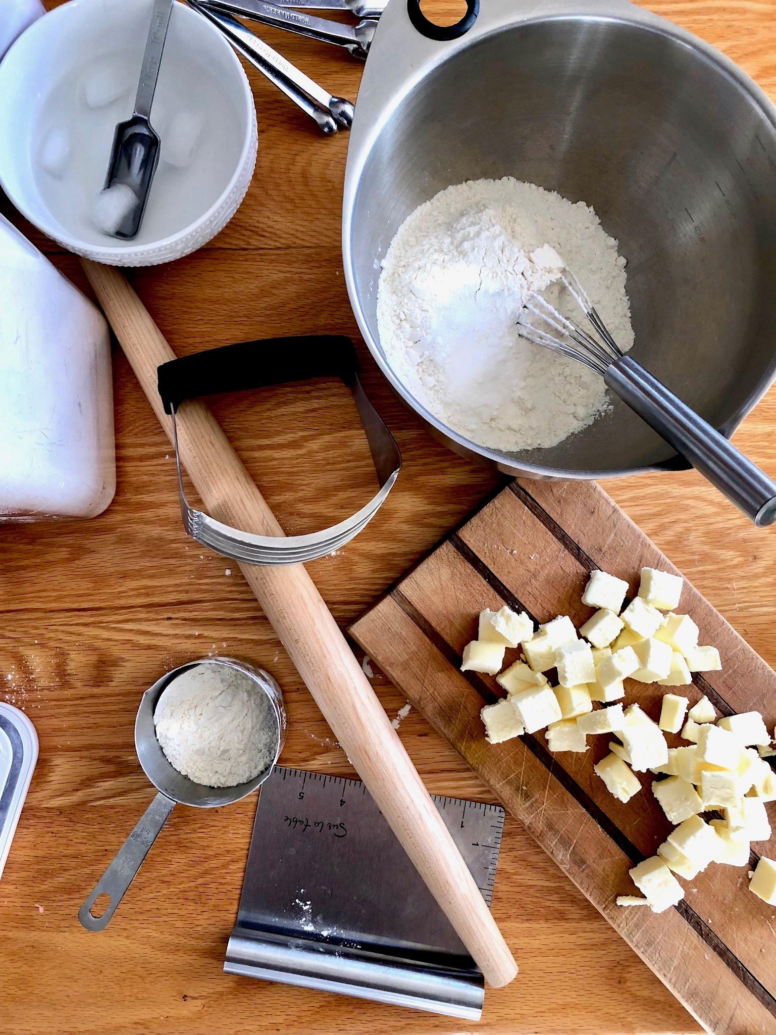 all-butter pie crust: beneath the crust