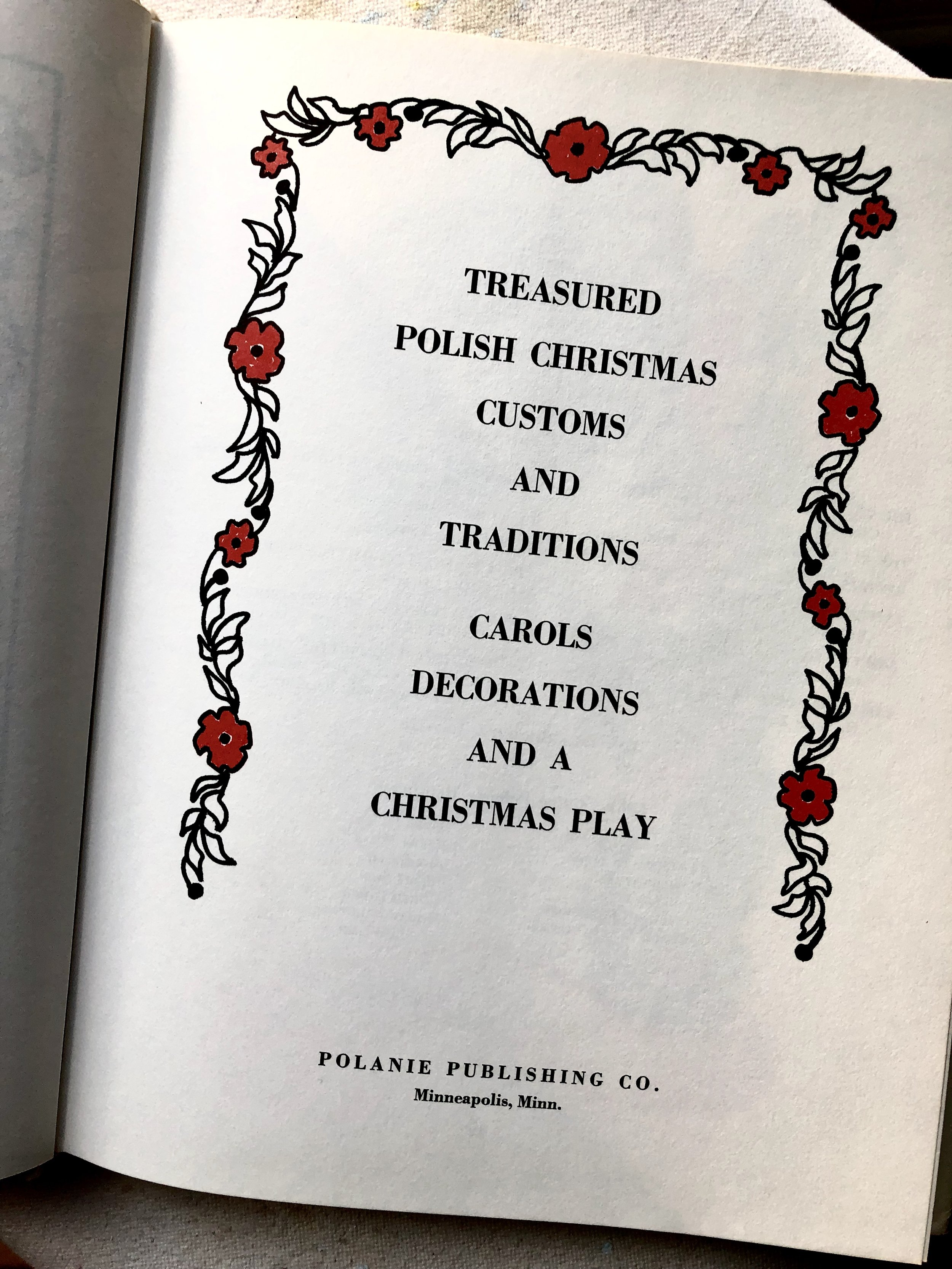 discovering the season of advent through my Polish past