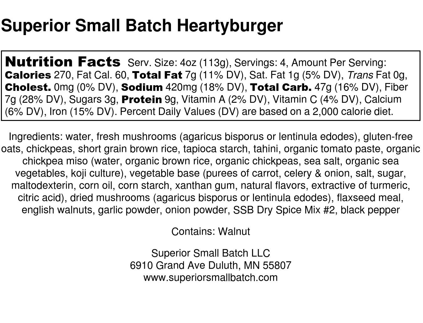 Superior Small Batch Heartyburger Nutrition Label FULL 2.jpg