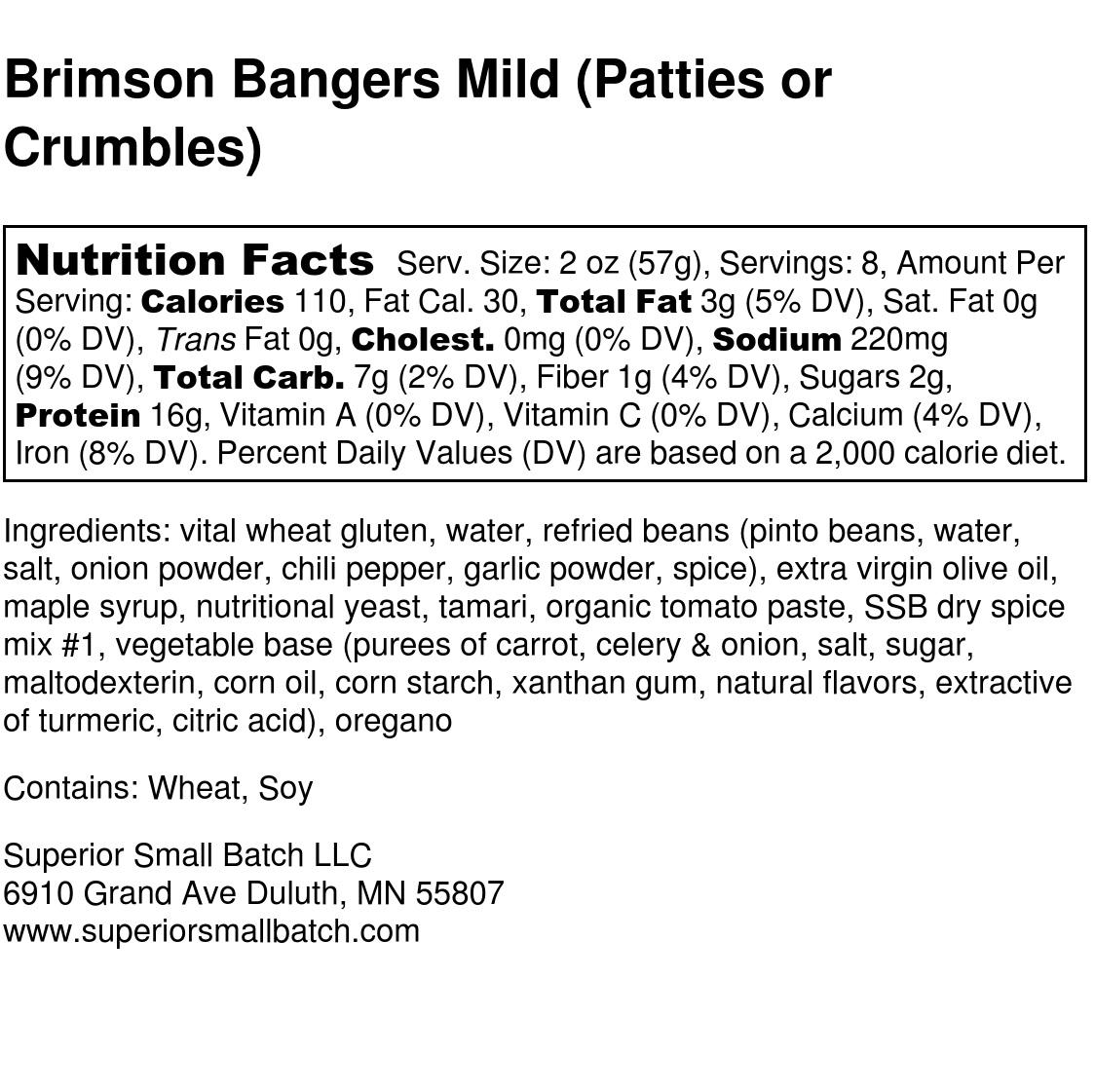 Brimson Bangers Mild Nutrition Label FULL.jpg
