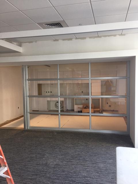 Aluminum Full view Garage Glass Door