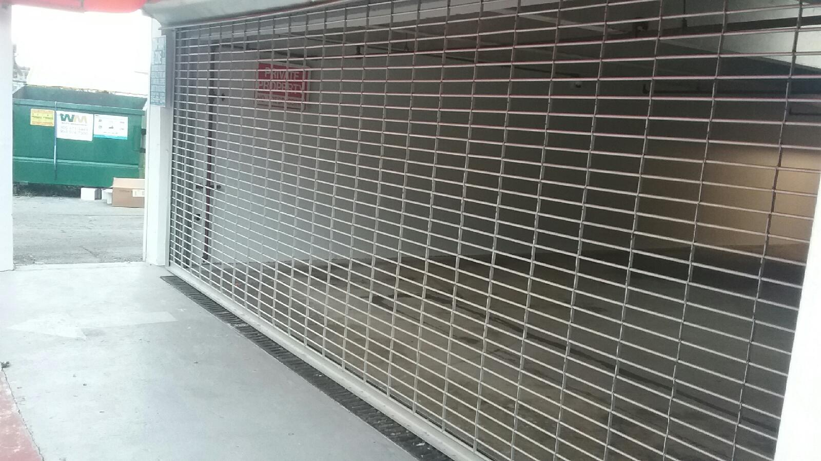 Motor Operated Rolling Aluminum Grille