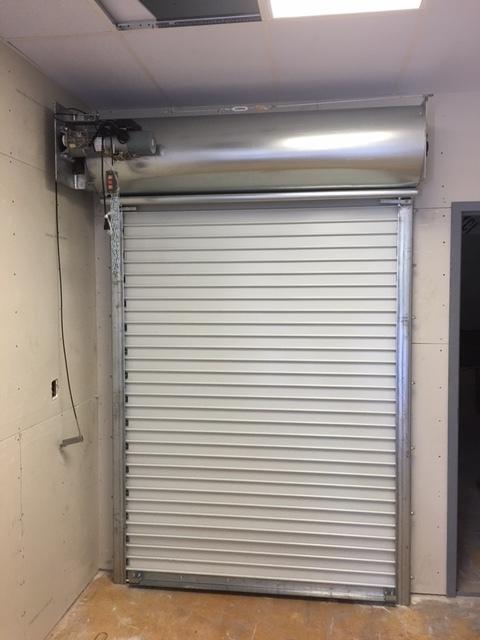 Manual Operated Rolling Steel Fire Door