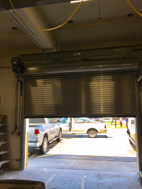 Stainless Steel Fire Rated Roll up Shutter