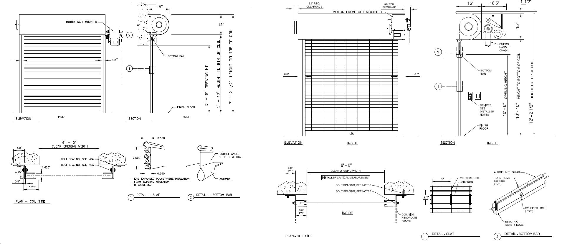 Custom Shop Drawings for any application.